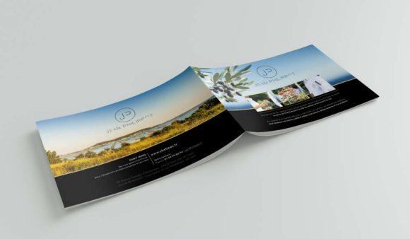 Livret / plaquette imprimée et digitale / Chef Jean Philippot