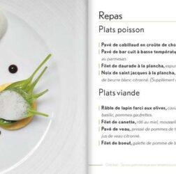 Présentation des Plats du Chef Jean Philippot